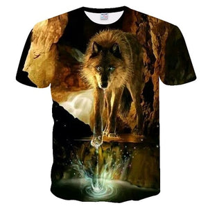 3D Wolf tshirt 4 Wolf Lovers - Protect The Wolves