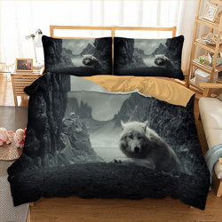 Wolf Bedding Set Twin Full Queen King