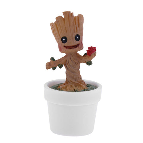 Mini Baby Groot Flowerpot - Protect The Wolves