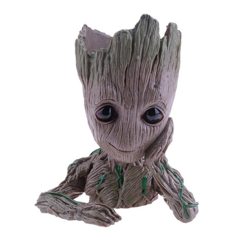 Vinyl Baby Groot Flowerpot - Protect The Wolves