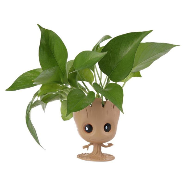 Baby Groot  Flowerpot Action Figures Model