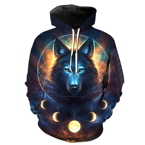 Image of Protect The Wolves New wolf hoodies for Our Wolf Lovers - Protect The Wolves