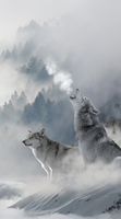 Image of Help Protect The Wolves with this Cell Protector - Protect The Wolves