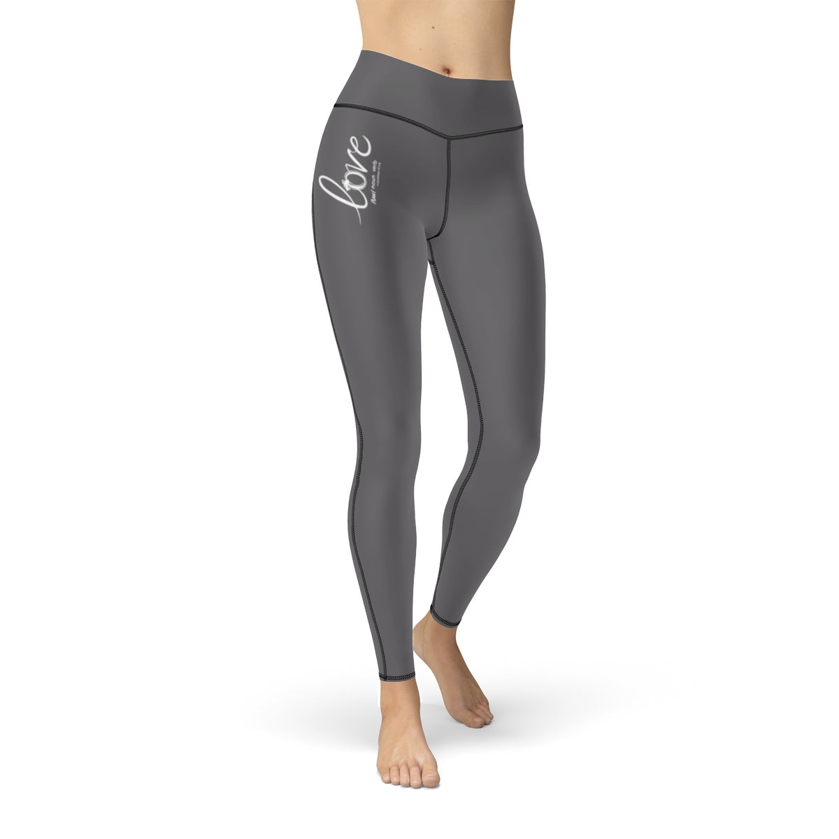Odyssey Women's Love Sport Leggings - Grey