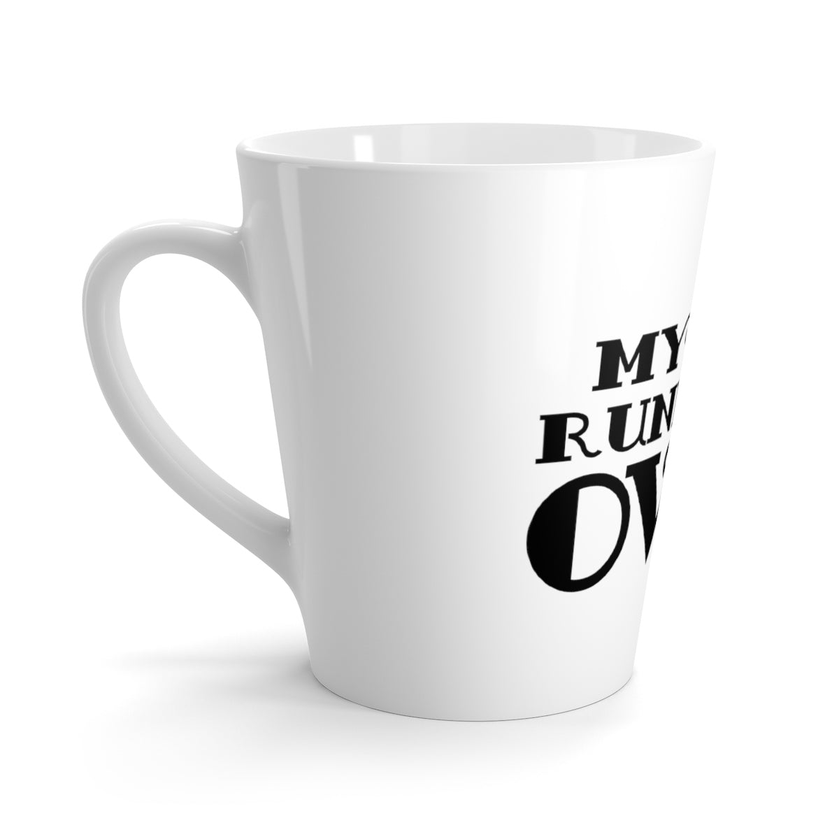 Odyssey My Cup Runneth Over Latte Mug - Mug - Odyssey By Yendi
