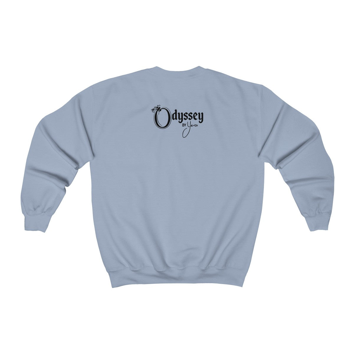Odyssey Power Love Sound Mind Women's Crewneck Sweatshirt - Light