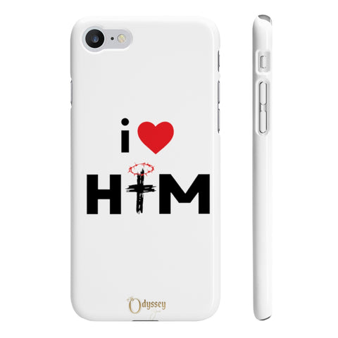 Odyssey I Love Him Slim Phone Cases - Phone Case - Odyssey By Yendi