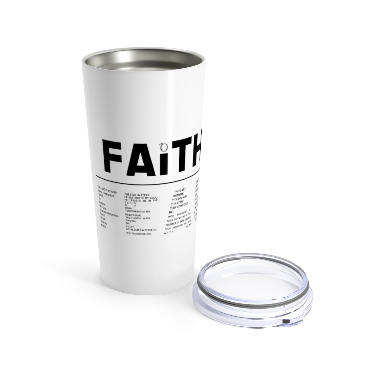 Odyssey Faith Over Fear Tumbler - Mug - Odyssey By Yendi