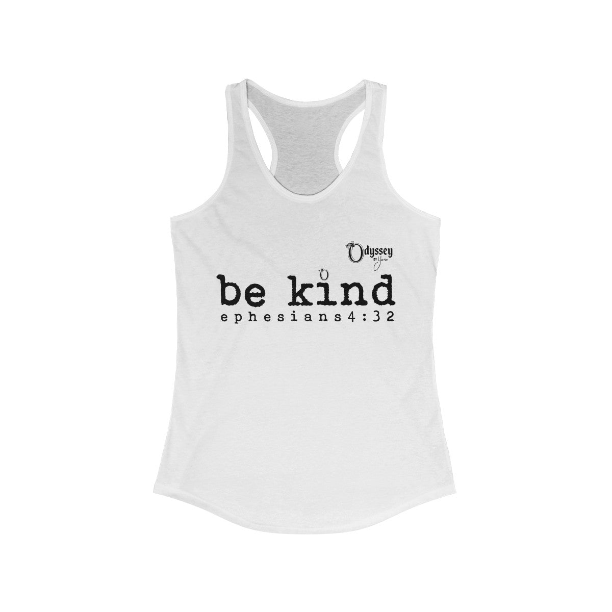 Odyssey Be Kind Women's Racerback Tank Top