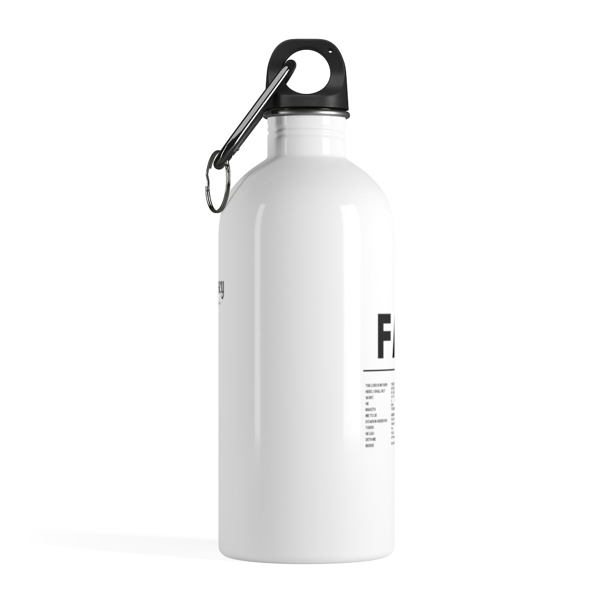 Odyssey Faith Over Fear Stainless Steel Bottle - Mug - Odyssey By Yendi