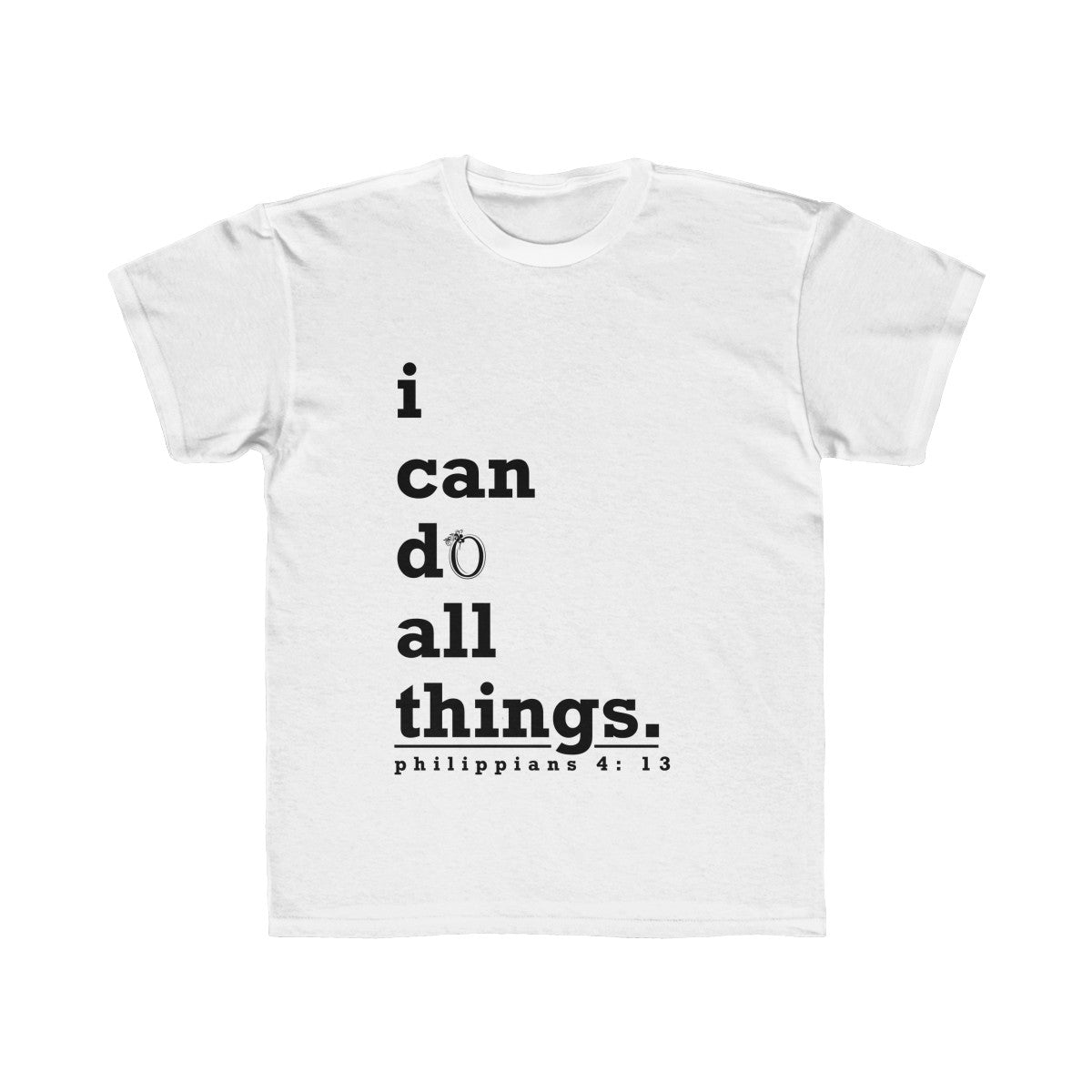 Odyssey I Can Do All Things Kids Tee