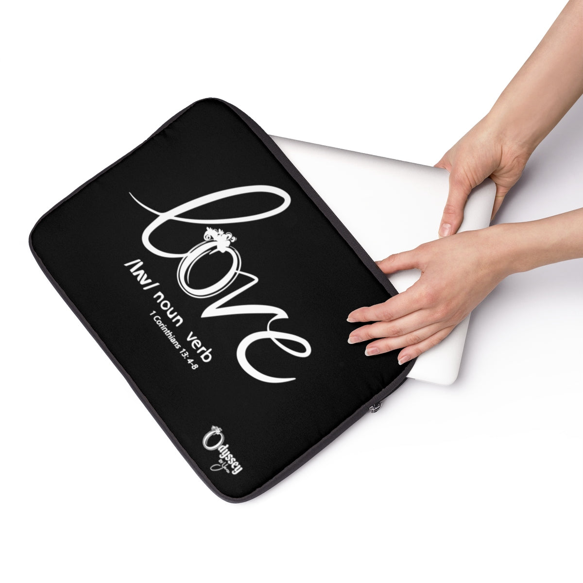 Odyssey Love Laptop Sleeve - Black