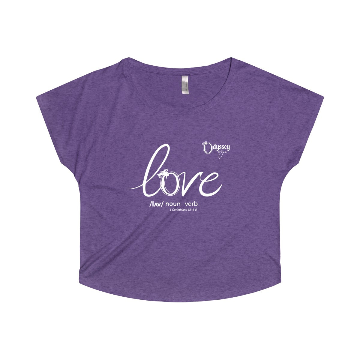Odyssey Love Women's Off The Shoulder Tee