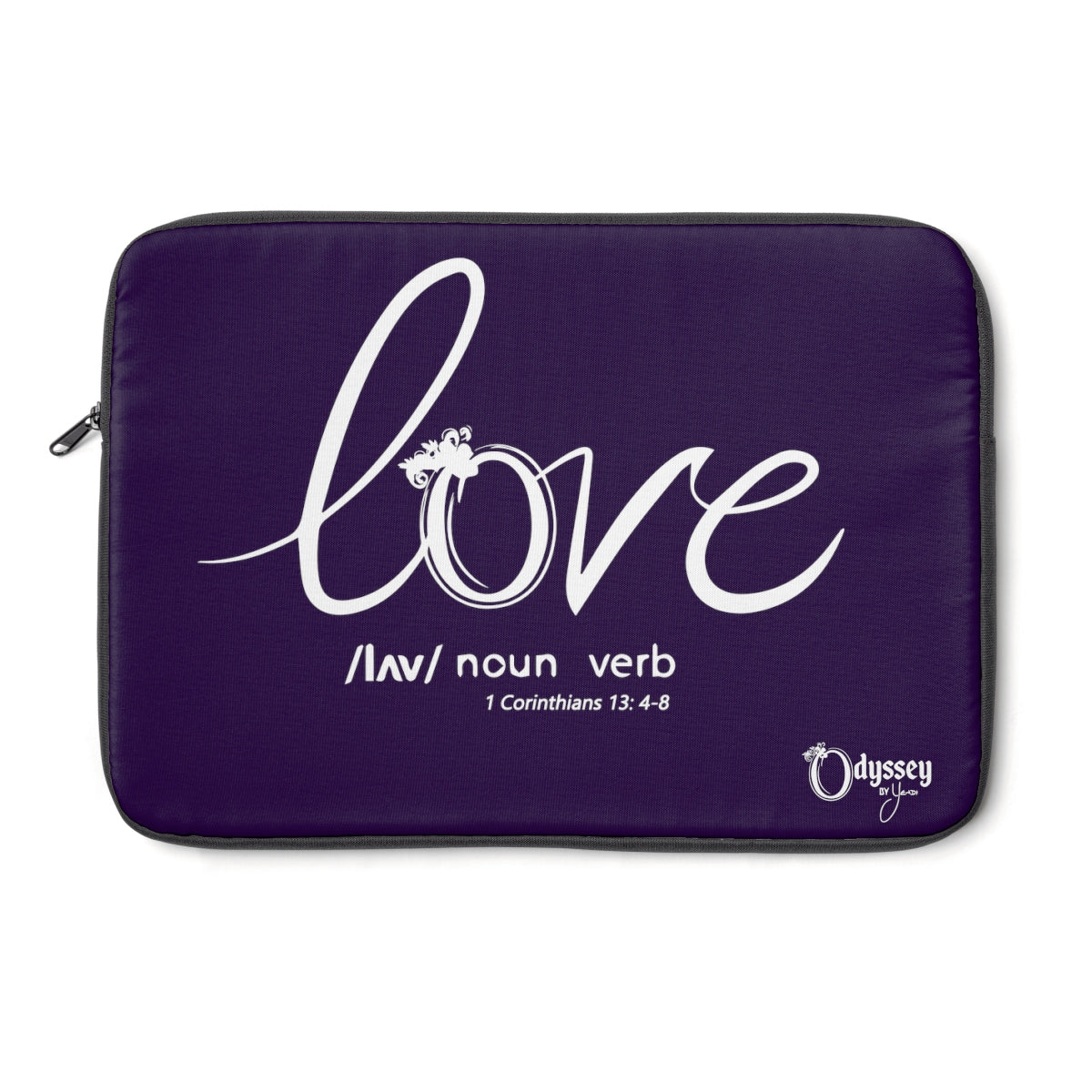 Odyssey Love Laptop Sleeve - Purple