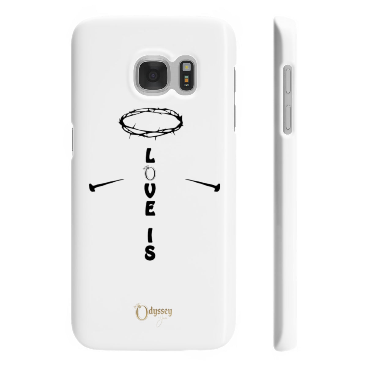 Odyssey Love Is Slim Phone Cases - Phone Case - Odyssey By Yendi