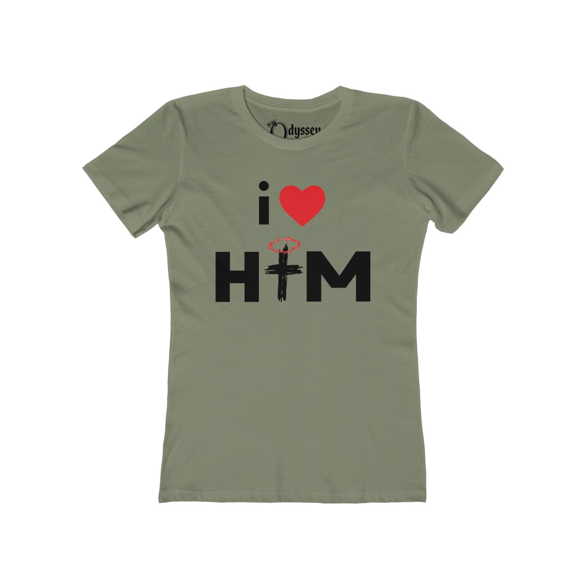 Odyssey I Love Him Women's Tee - Light