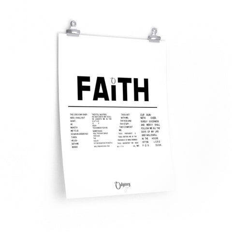Odyssey Faith Over Fear Poster