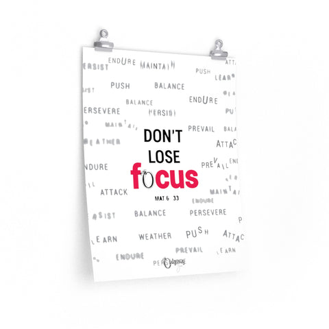 Odyssey Don't Lose Focus Poster