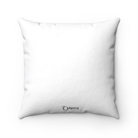 Odyssey Faith Over Fear Square Pillow - Home Decor - Odyssey By Yendi