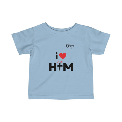 Odyssey I Love Him Infant Tee