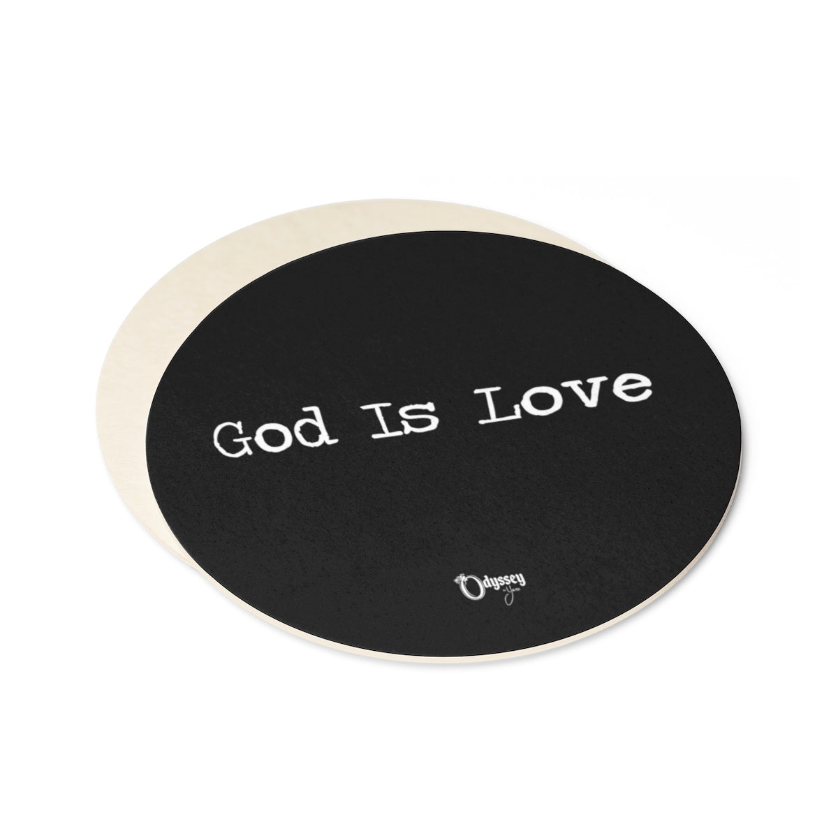 Odyssey God Is Love Paper Coaster Set - 6pcs - Home Decor - Odyssey By Yendi