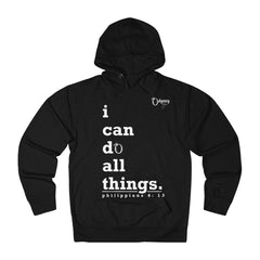 Odyssey I Can Do All Things Men's French Terry Hoodie