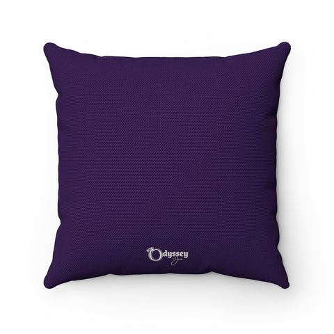 Odyssey Love Square Pillow - Purple - Home Decor - Odyssey By Yendi