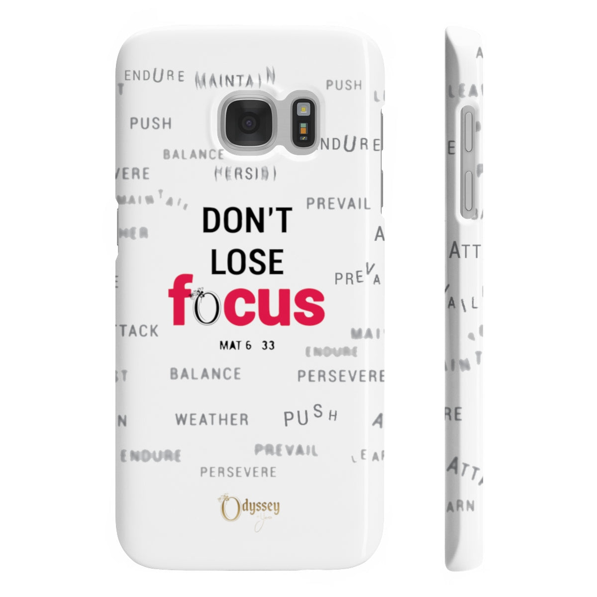 Odyssey Don't Lose Focus Slim Phone Cases - Phone Case - Odyssey By Yendi