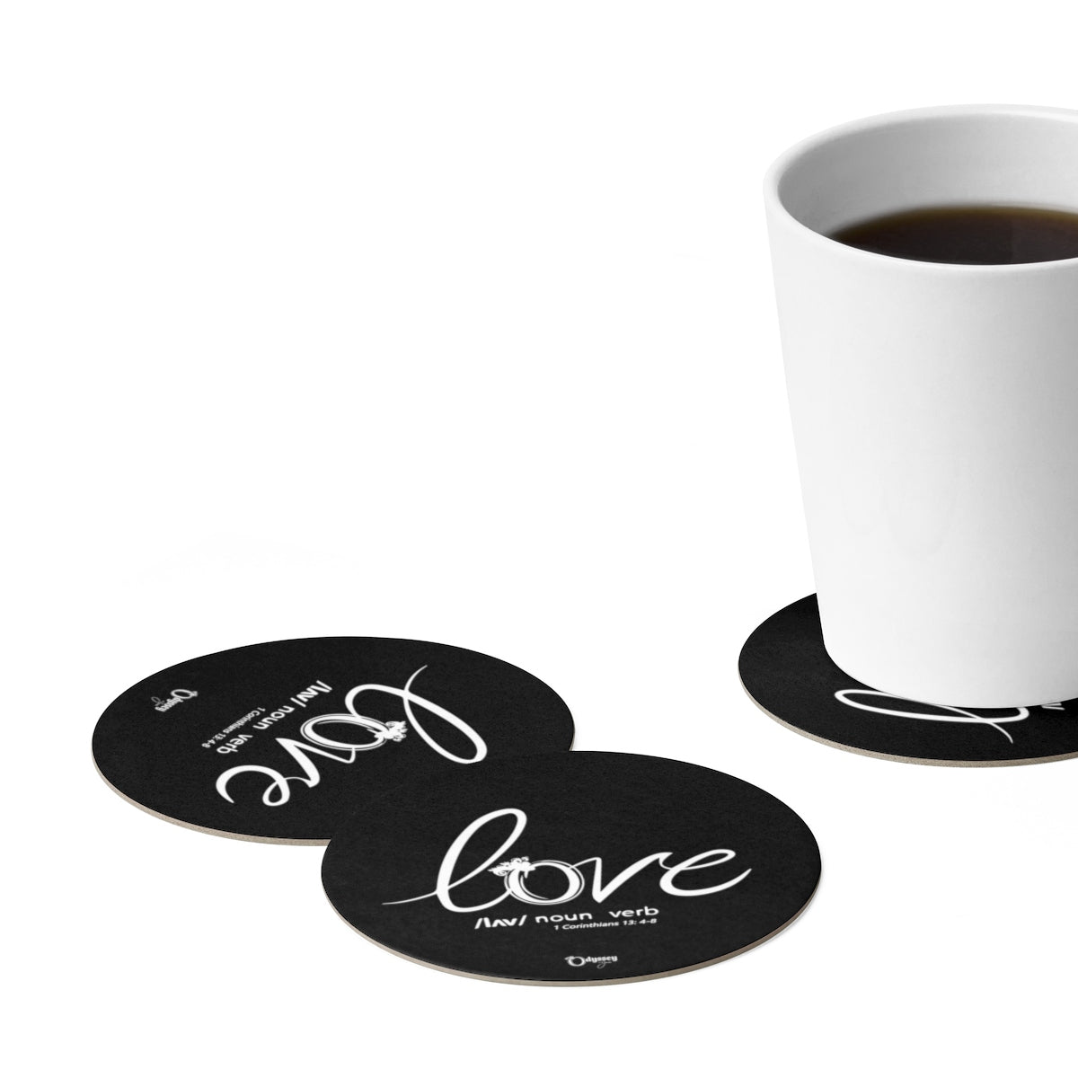 Odyssey Love Defined Paper Coaster Set - 6pcs - Home Decor - Odyssey By Yendi