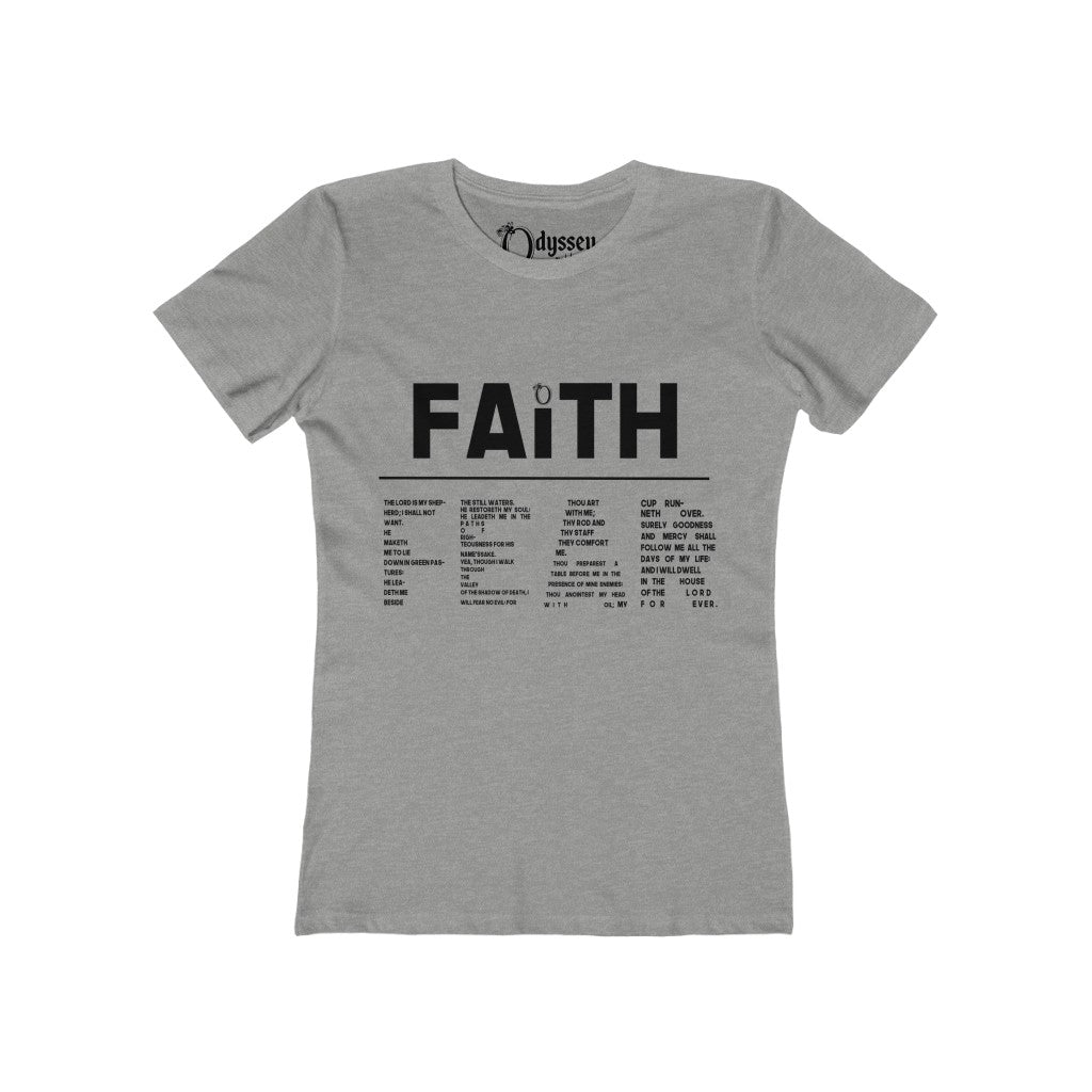 Odyssey Faith Over Fear Women's Tee - Light