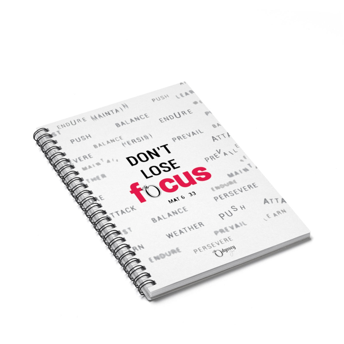 Odyssey Don't Lose Focus Spiral Notebook - Paper products - Odyssey By Yendi