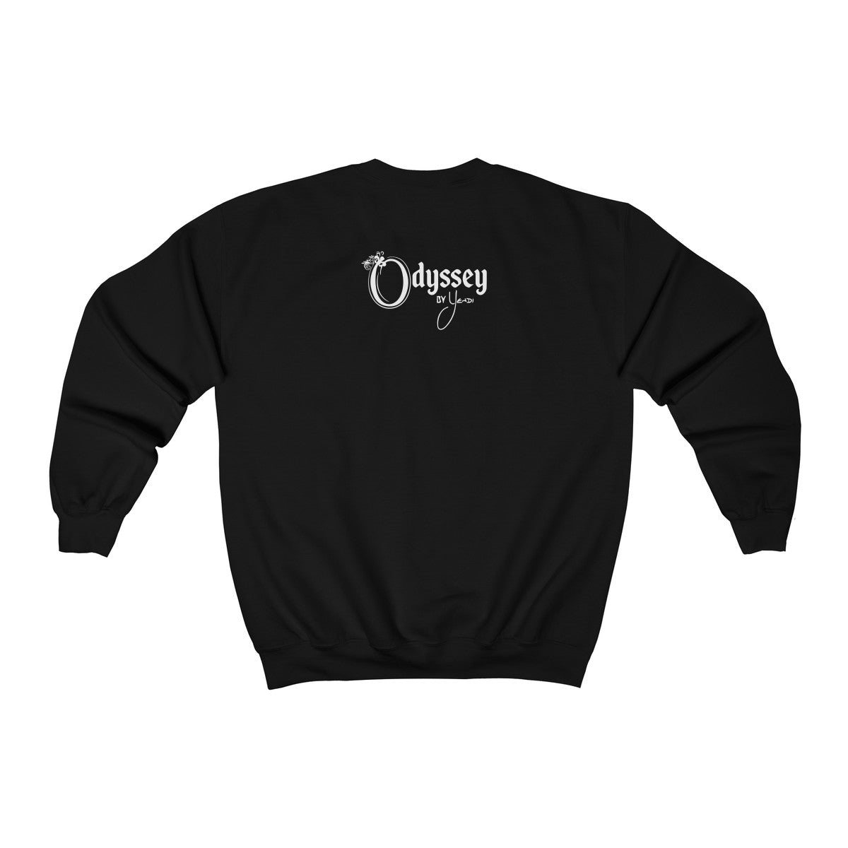 Odyssey  Power Love Sound Mind Women's Crewneck Sweatshirt - Dark