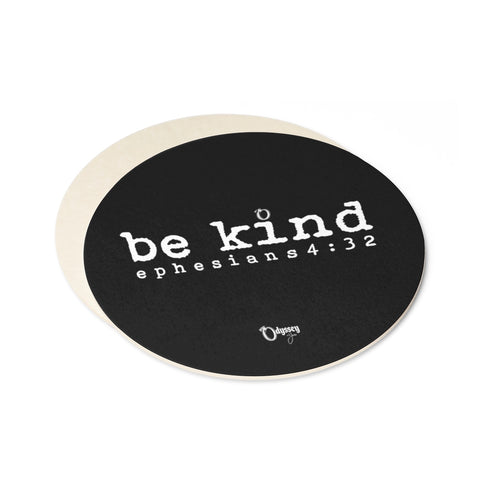 Odyssey Be Kind Paper Coaster Set - 6pcs - Home Decor - Odyssey By Yendi