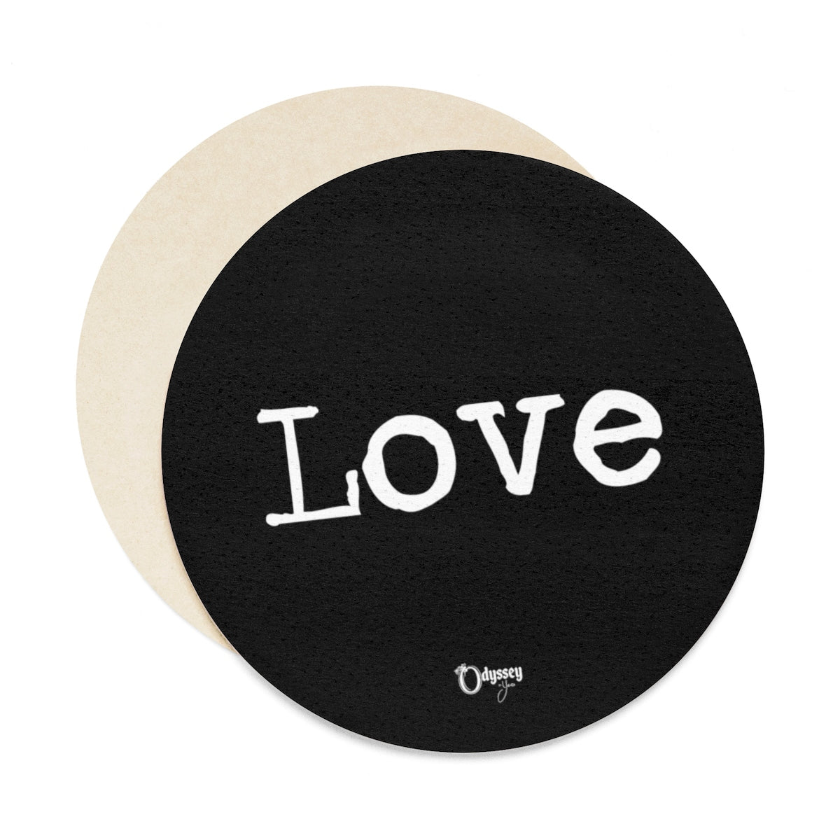 Odyssey Love Paper Coaster Set - 6pcs - Home Decor - Odyssey By Yendi