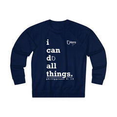 Odyssey I Can Do All Things Men's French Terry Crew Sweatshirt