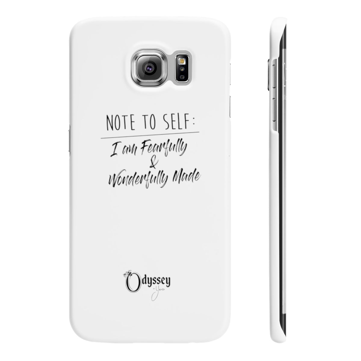 Odyssey Note To Self Slim Phone Cases - Phone Case - Odyssey By Yendi