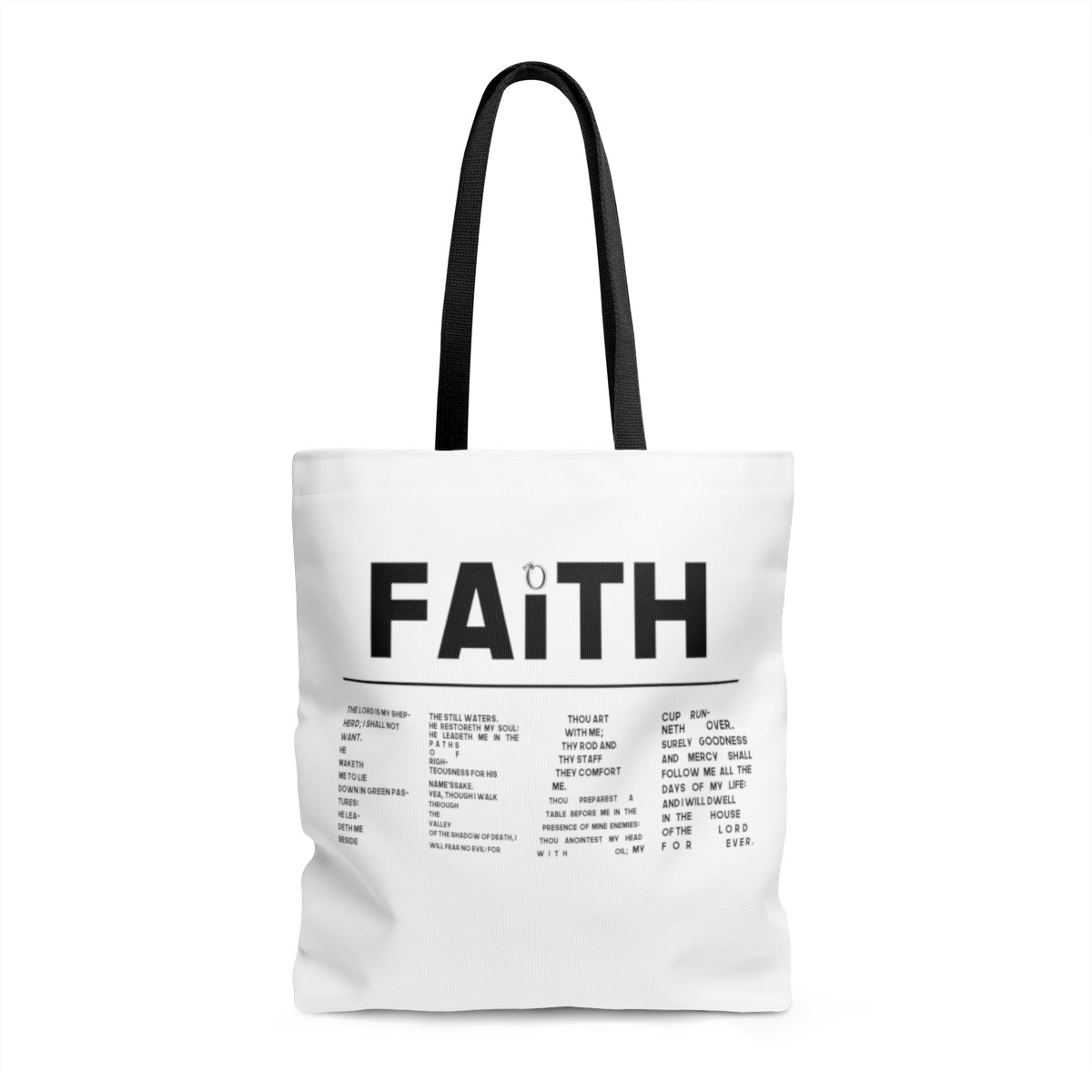 Odyssey Faith Over Fear Tote Bag