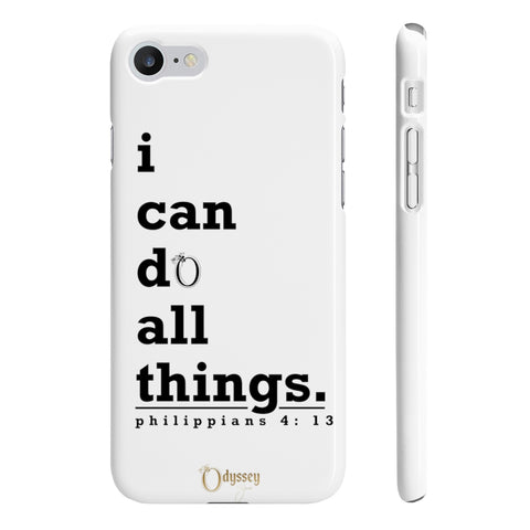 Odyssey I Can Do Slim Phone Cases - Phone Case - Odyssey By Yendi