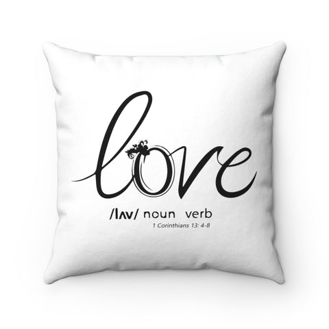 Odyssey Love Square Pillow - Mint - Home Decor - Odyssey By Yendi