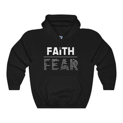 Odyssey Faith Over Fear Unisex Hooded Sweatshirt - Dark