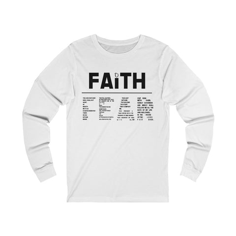 Odyssey Faith Over Fear Men's Long Sleeve Tee