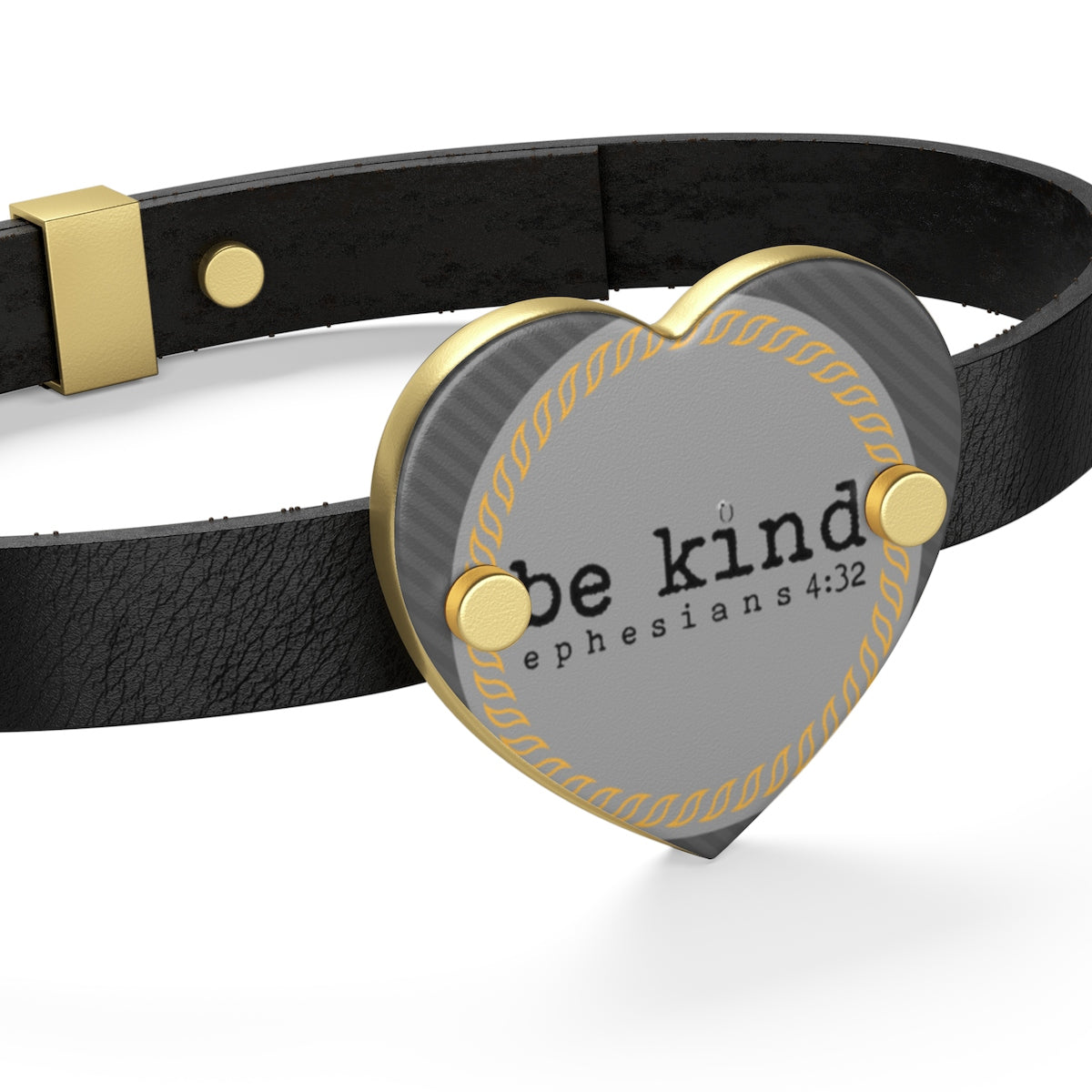 Odyssey Be Kind Leather Bracelet