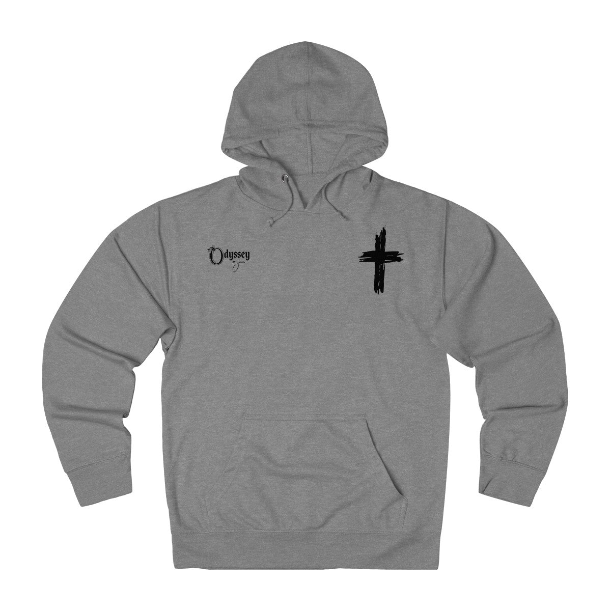 Odyssey Cross My Heart Men's French Terry Hoodie