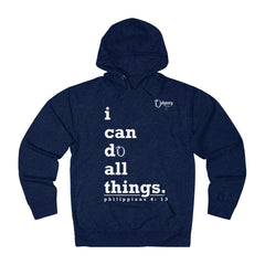 Odyssey I Can Do All Things Women's French Terry Hoodie