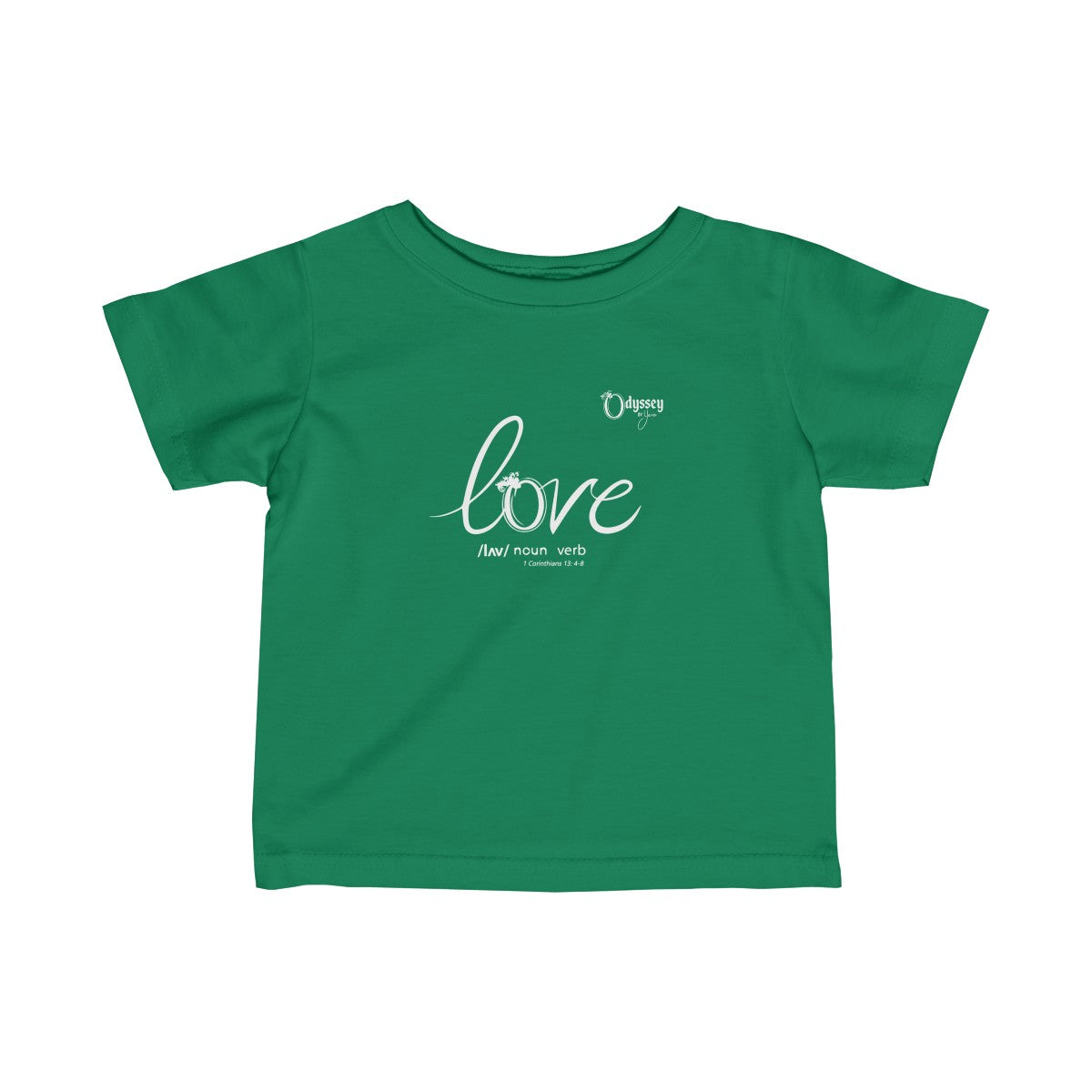 Odyssey Love Infant Tee