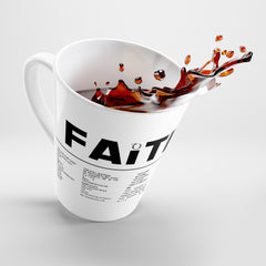Odyssey Faith Over Fear Latte Mug - Mug - Odyssey By Yendi