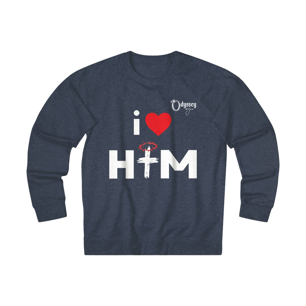 Odyssey I Love Him Women's Crewneck Sweatshirt