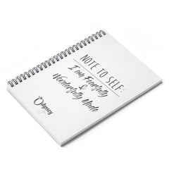 Odyssey Note To Self Spiral Notebook - Paper products - Odyssey By Yendi
