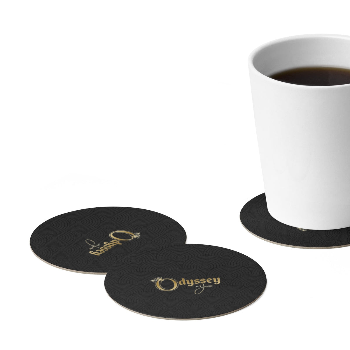 Odyssey Paper Coaster Set - 6pcs - Home Decor - Odyssey By Yendi