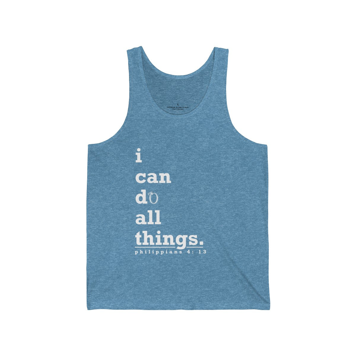 Odyssey I Can Do All Things Men's Muscle Tee